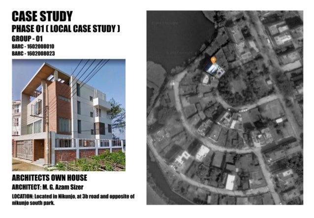 Architectural Case study for residence_1