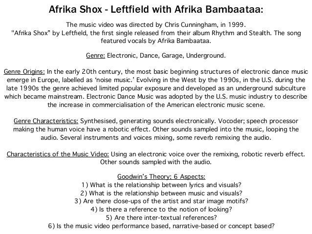 Leftfield: Afrika Shox - Case Study