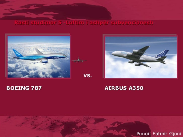 Airbus vs. Boeing (A) - Harvard Business Review