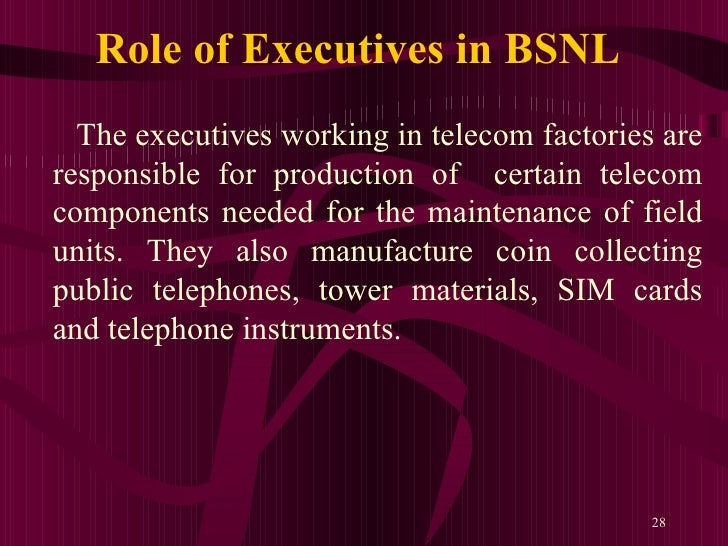 bsnl casestudy A study on marketing strategies of bsnl in telecommunication services -a comparative study  school of management and business studies mahatma gandhi university kottayam, kerala presentation based on phd thesis submitted to mahatmagandhi university 1 structure of presentation 2.