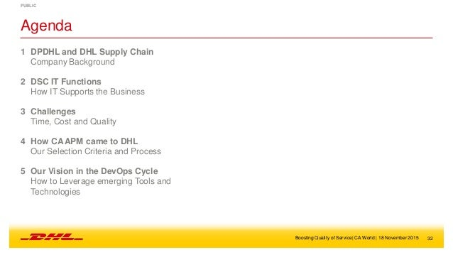 research methodoloy on dhl service Discover what makes dhl  removing costs and improving customer service with dhl you  it is anchored by our own proprietary project management methodology,.