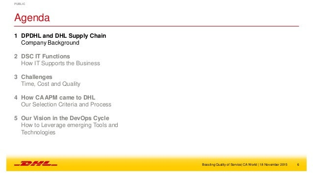 case study supply chain management dhl Armstrong & associates report of its site visit 3pl case studies (transportation management system) dhl supply chain is able to do merge-in-transit and.