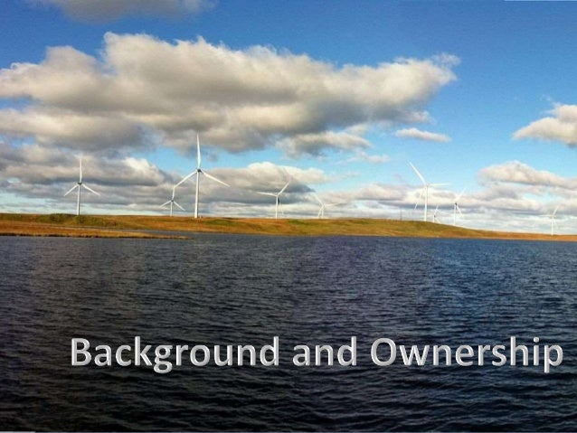 a case study of wind energy Case study: burbo bank wind farm, liverpool bay wind power is a controversial commodity although it is renewable, and goes some way towards solving the problem of scarce fossil fuels for energy, not everyone is in favour of wind farms.