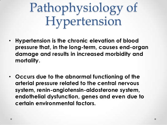 Term papers on hypertension