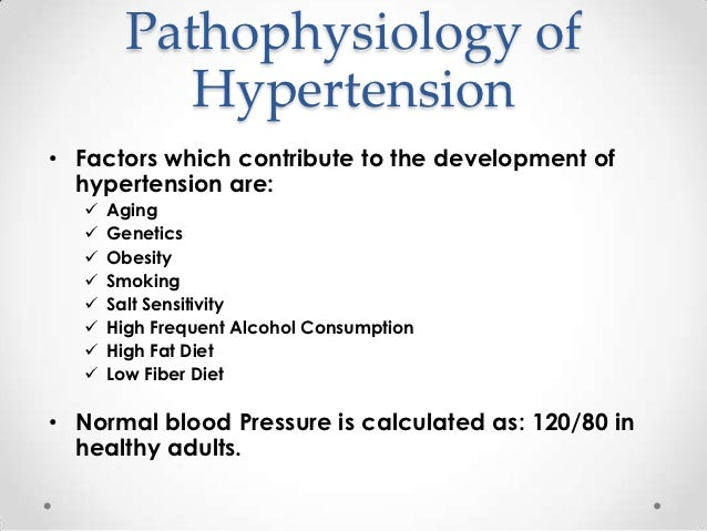 hypertension thesis statement How can the answer be improved.