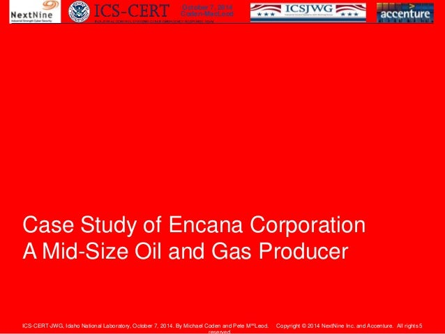 Accenture Amp Nextnine Medium Size Oil Amp Gas Company Cyber