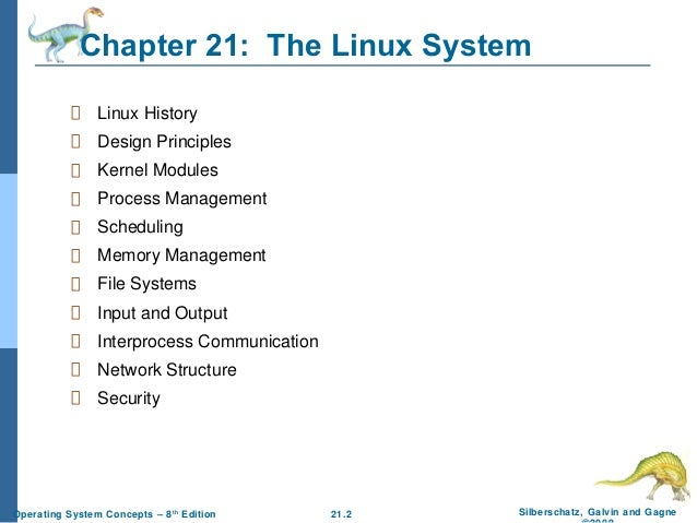 an analysis of linux operating systems Analysis of the linux random number generator linux distributions and is based on generating randomness from entropy of operating system events.