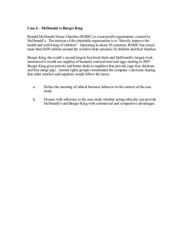 Burger King Corp. Case Solution & Analysis