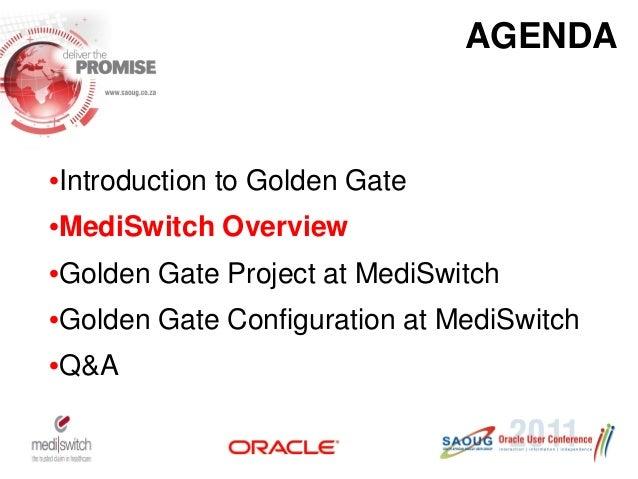 Case Study Mediswitch Golden Gate Implementation