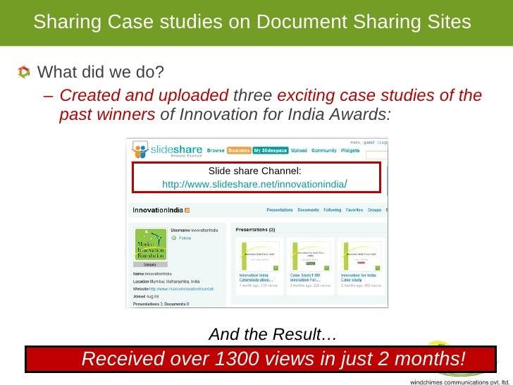 innovative press scenario studies
