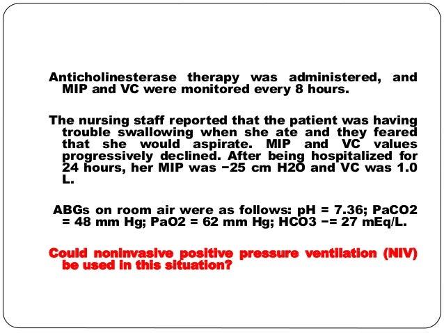 Patient with LEMS, Myasthenia Gravis, Lung Cancer ...