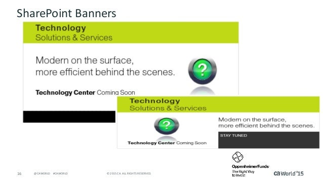 Architecting the Modern Software Factory - CA Technologies