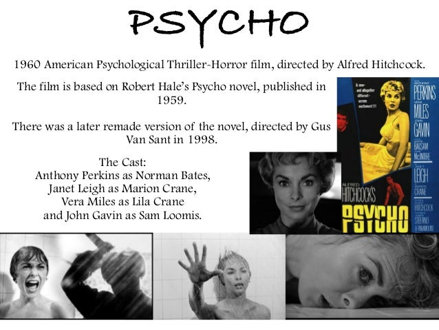 a thematic analysis of the movie psycho directed by alfred hitchcock Well-known modern horror and suspense films, after completing psycho, a thematic analysis of alfred hitchcocks psycho on horror films which was the aim for hitchcock's films.