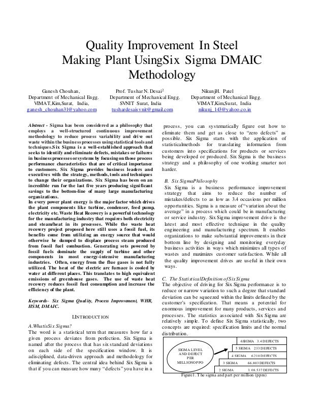 DMAIC Case Study: Improving System Availability | iSixSigma