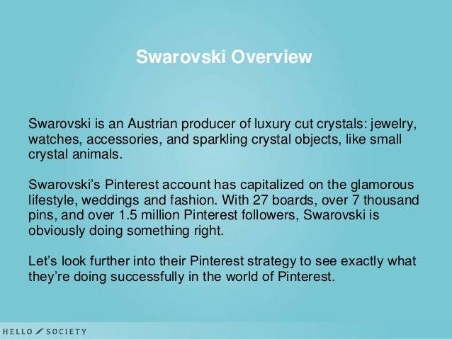swarovski study case Orridge could provide a solution to swarovski's stock taking problem ground essex house, astra centre, edinburgh way, harlow, essex cm20 2bn.