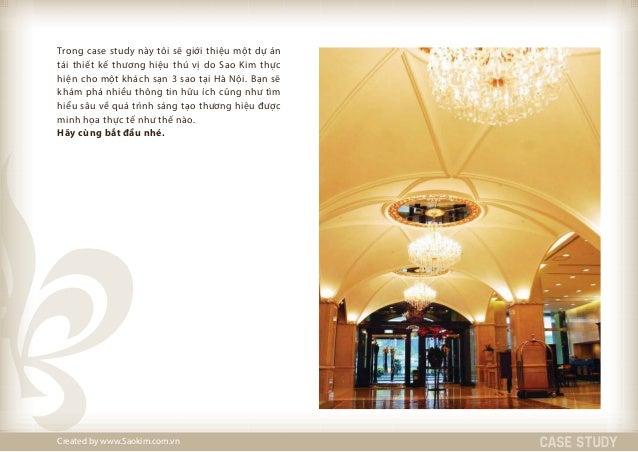 Case Study   - Tái thiết kế nhận diện thương hiệu khách sạn 3 sao COSIANA Slide 2