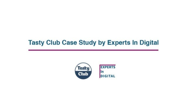 Tasty Club Case Study by Experts in Digital