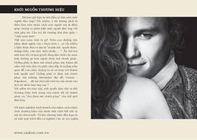 Case Study - Thiết kế nhận diện thương hiệu thời trang nam Casanova Slide 2