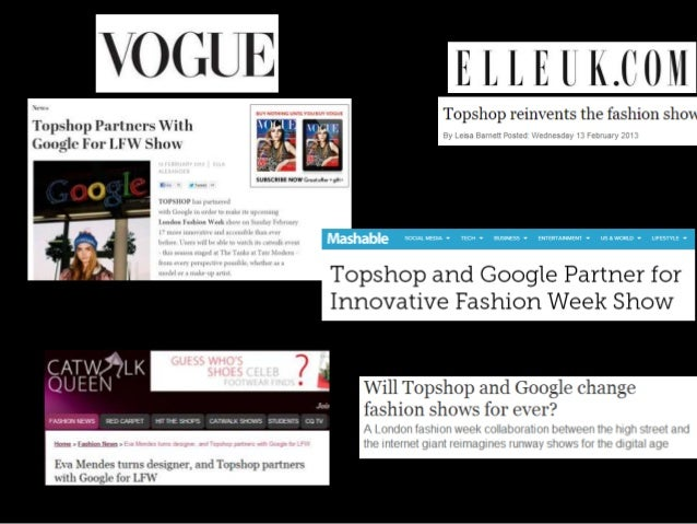 Case study asos and topshop
