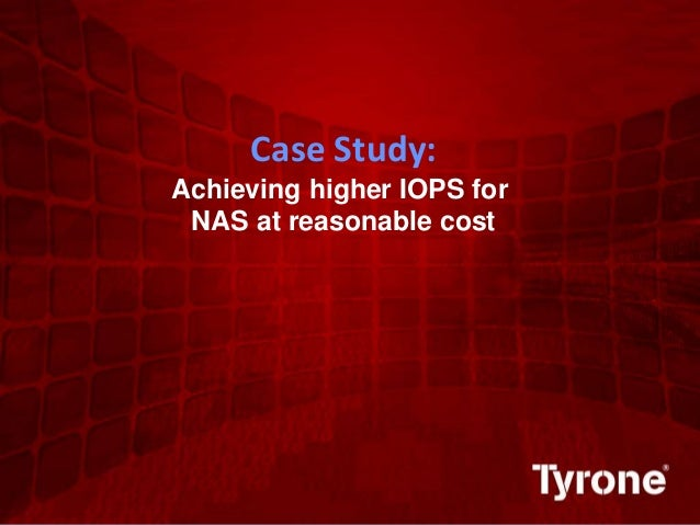 0 ©2011 Quest Software, Inc. All rights reserved. Case Study: Achieving higher IOPS for NAS at reasonable cost
