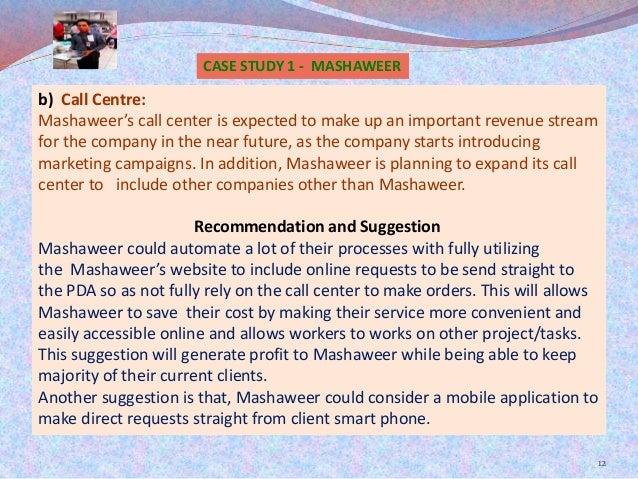 mashawer case study Mashaweer case study - download as pdf file (pdf), text file (txt) or read online.