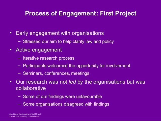 From the Academy to Policy-Making: Building Effective Partnerships: Case Study: The Impact of the Criminal Process on Healthcare Ethics and Practice Slide 3