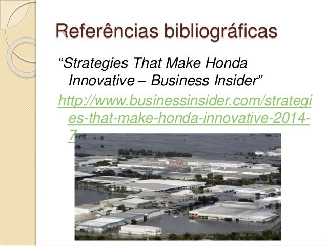 Honda International Case Study - SlideShare