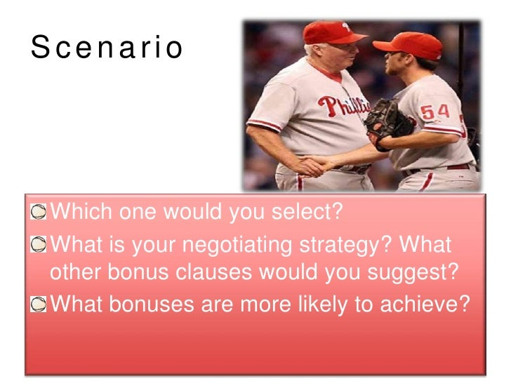 case 5 bargaining strategy in major league baseball Search results for 'mlb bargaining strategy' mlb - bargaining strategy bargaining strategy in major league baseball student information objectives 1.