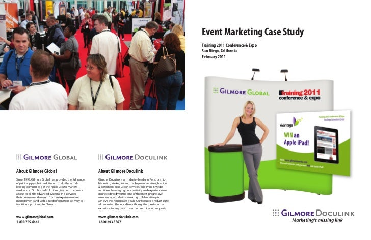 Event Marketing Case Study                                                                                                ...