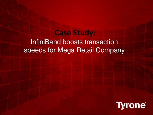 0 ©2011 Quest Software, Inc. All rights reserved. Case Study: InfiniBand boosts transaction speeds for Mega Retail Company.