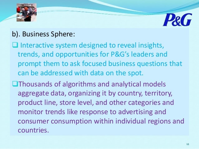 industry opportunities and threats procter gamble The fulfillment of strategic objectives based on organizational strengths and consumer goods industry opportunities contributes to procter & gamble's long- term success also, strategies to address p&g's organizational weaknesses and the external threats against the business are essential such strategies.