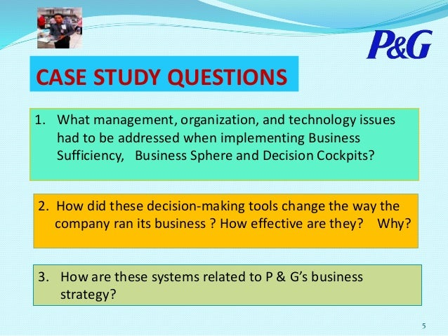 Procter and gamble case study solution casino charlevoix map