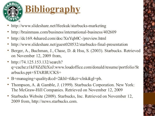starbucks case study mcgraw hill Crafting and executing strategy the quest for competitive advantage concepts and cases 17th edition mcgraw-hill irwin the case for diversifying into related.