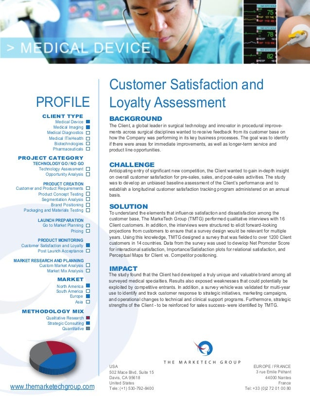 Assessment of customer satisfaction in telecom