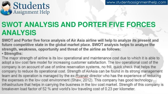 case study airasia swot