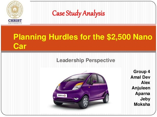 case study on singur tata nano