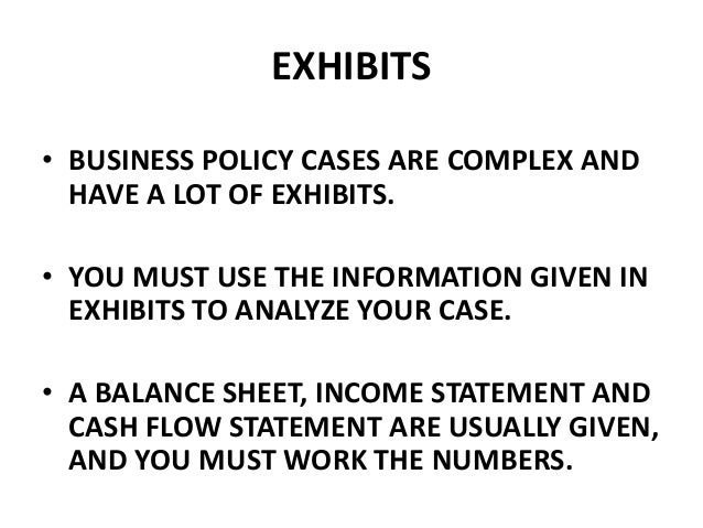 case study business policy vesagas Case-study business law case studies examples business laws broadly govern the areas of commercial transactions, sales, mortgages, contracts, bankruptcies etc business law case studies involve a dispute between two legal entities regarding such issues.