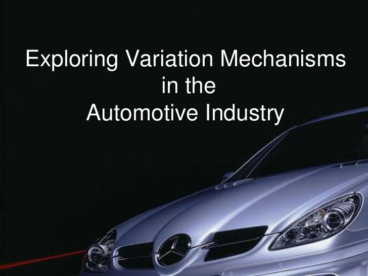 an introduction to the analysis of the automobile industry I introduction automobile industry is a symbol of technical marvel by human kind being one of the fastest growing sectors in the world its dynamic growth phases are .