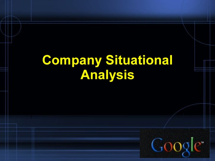 google inc strategic management