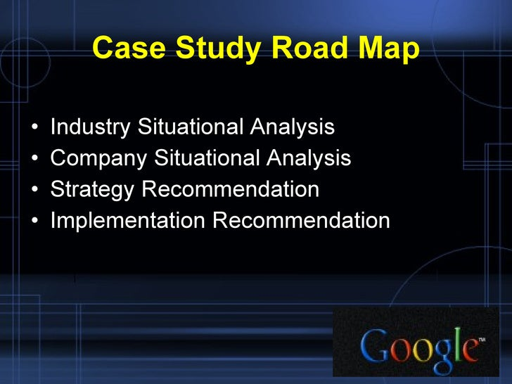 google inc. marketing case study analysis