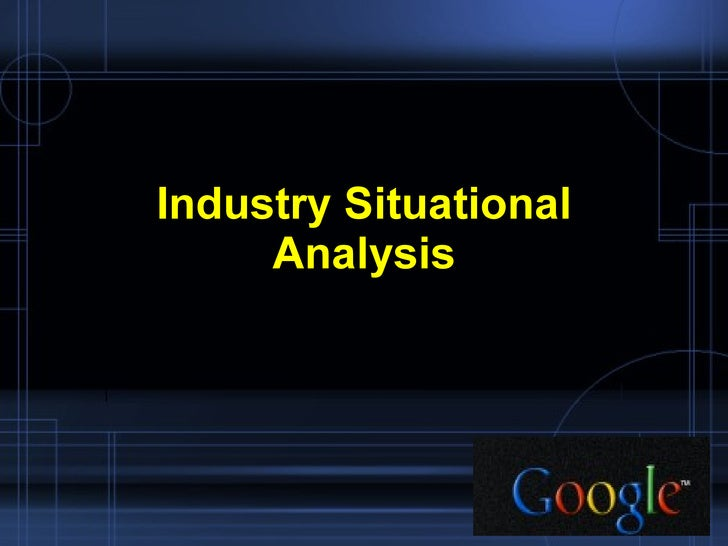 google situational analysis Search the world's most comprehensive index of full-text books my library.