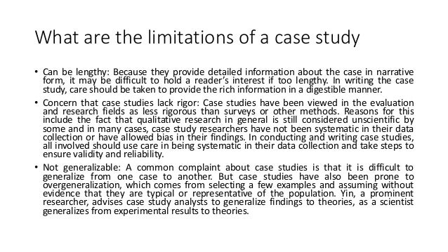 Case Study Research Page