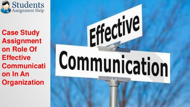 role of communication in an organization Definition: communication is a two-way process in which there is an exchange of thoughts, opinions, or information by speech, writing, or symbols towards a mutually.