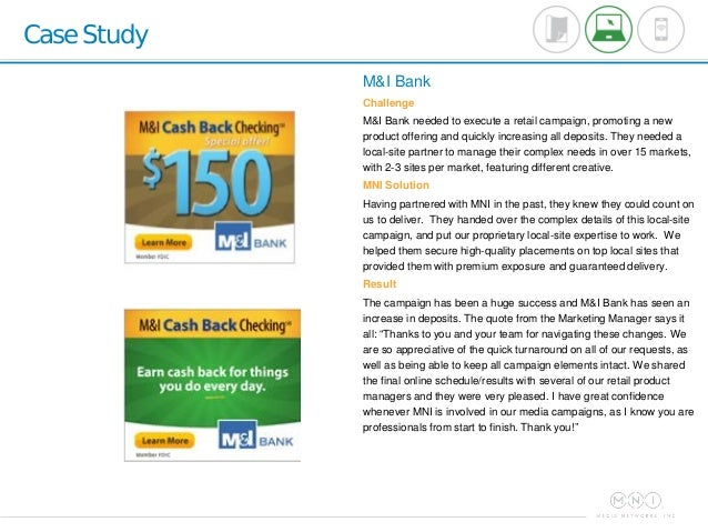 sample case study on bank of And further study 24 in this set of case studies, we provide real-world examples of how cambridge english approaches the task of transforming.