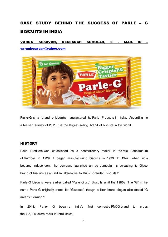 parle g case study ivey ppt