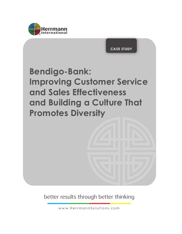 bank case study High level strategies are important, but we are ultimately measured by our impact on individual clients, customers and the community here are some case studies of.