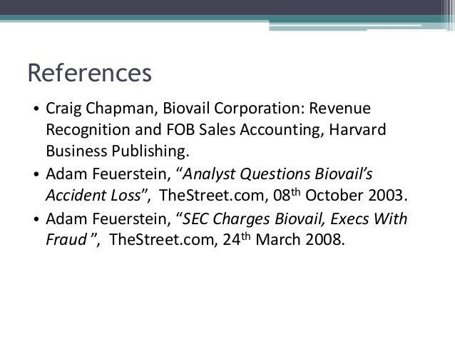 biovail harvard case study answers
