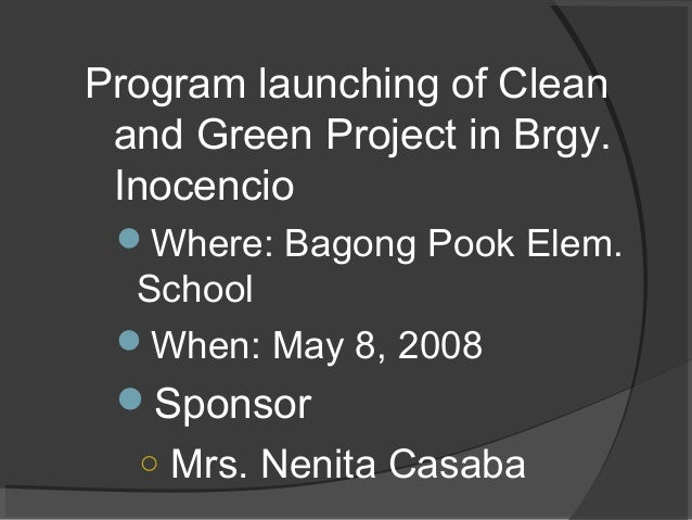 A Case Study of Bayawan City, Negros Oriental on ...