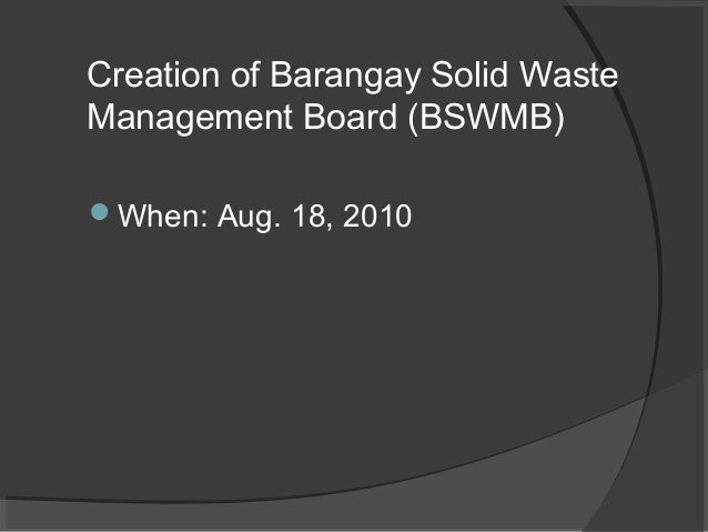 BARANGAY GOVERNMENT DISASTER PREPAREDNESS: THE CASE …