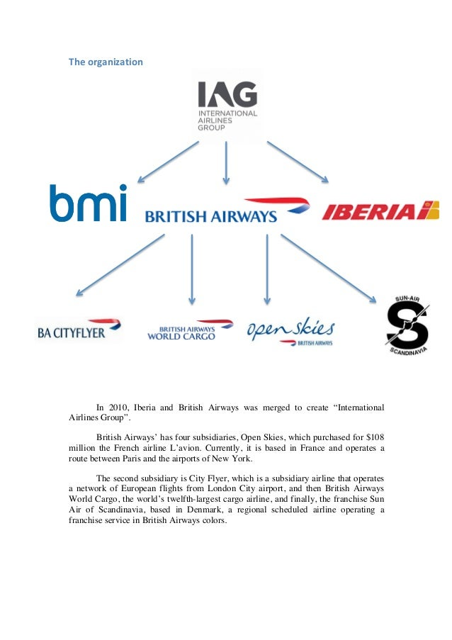 iberia case study The effect of joint ventures on airline competition: the case of american airlines, british airways and iberia joint business .
